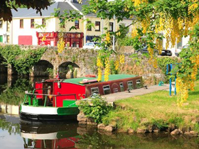 Riversdale Barge in Ballinamore, Co. Leitrim, Ireland