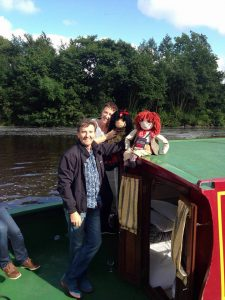 Daniel O'Donnell & Majella on a Riversdale Barge Holiday on Shannon Erne Waterway