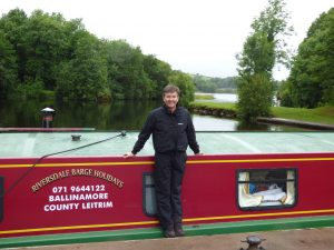 Daniel O'Donnell on a Riversdale Barge Holiday