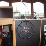 Dutch Barge for sale in Ireland on River Shannon Boating Riversdale Barge Holidays www.riversdaleholidays.com