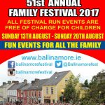 Ballinamore Festival, for accommodation visit www.riversdaleholidays.com